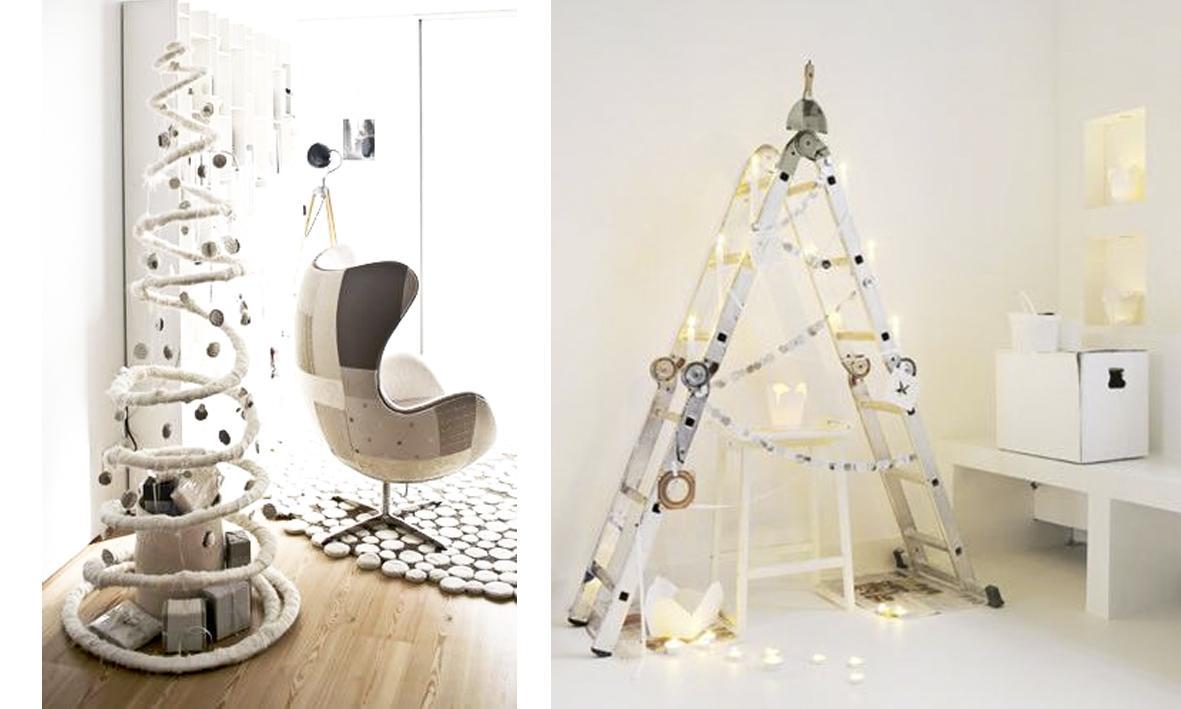 d coration de no l des id es de sapins originales. Black Bedroom Furniture Sets. Home Design Ideas
