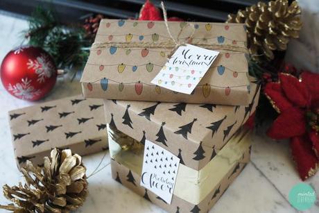 papier cadeau, sapin de noel, graphique