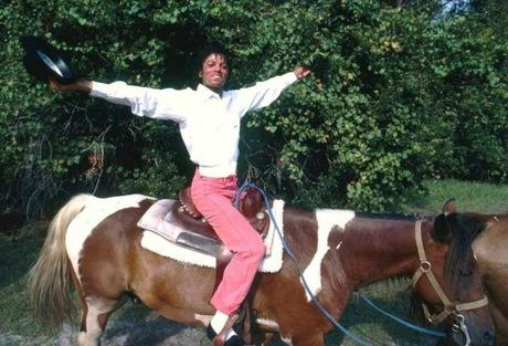 Michael Jackson au Caribou Ranch, Colorado, septembre 1984