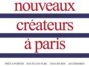 nouveaux créateurs Paris