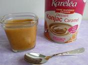 yaourts-crèmes diététiques caramel konjac seulement kcalories (sans oeufs sans beurre)