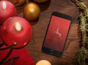 fonds d'écran pour iPhone iPad thème Noël