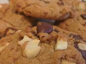 Cookies Noël chocolat noir, noix Brésil, praliné