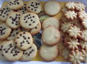 Sablés vanille presse biscuits….ou