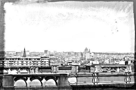 Postcard from Brussels - Vue depuis le Palais de Justice