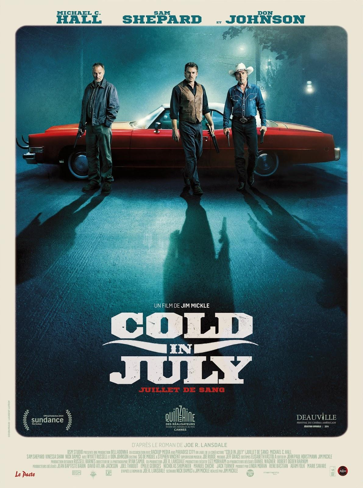CINEMA: [INVITATIONS] Cold in July (2014), back to the eighties