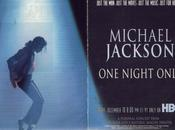 Michael Jackson: Night Only, concert jamais lieu