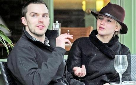 *EXCLUSIVE* Are Jennifer Lawrence and Nicholas Hoult Engaged? **NO WEB, MUST CALL FOR PRICING** **USA ONLY**
