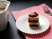 Bouchées foie gras, pain d'épices chutney figues