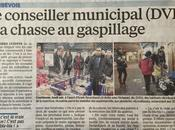 conseiller municipal Arash Derambarsh chasse gaspillage