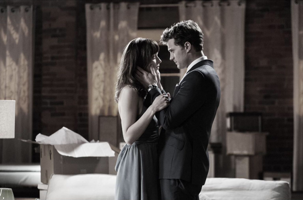 Fifty Shades Of Grey - Stills - Ana Steele et Christian Grey