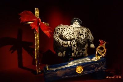 Niki de St Phalle, l'enterrement du père