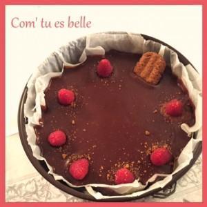 photo cheesecake chocolat vanille