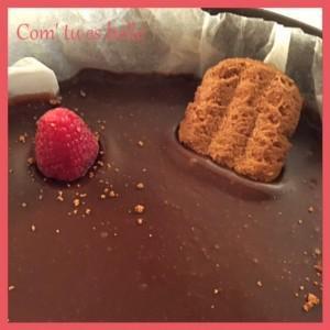 cheesecake chocolat vanille