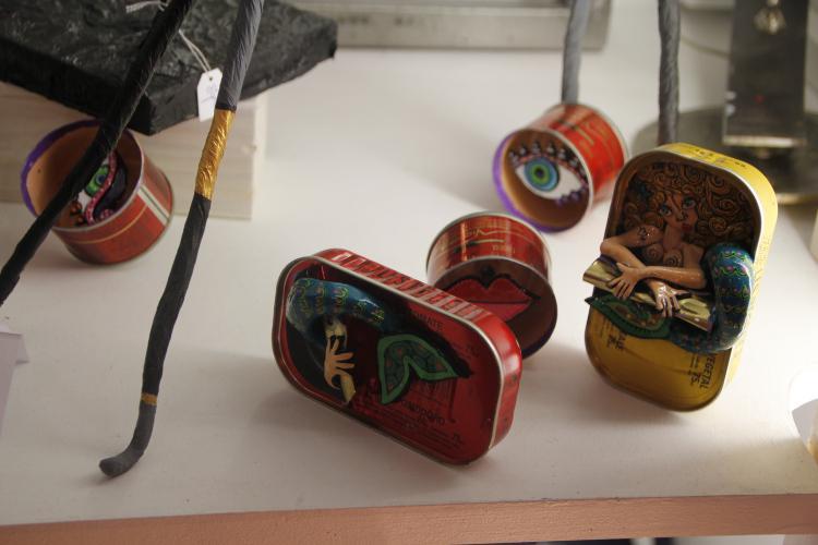 Atelier diy les martiens ou comment transformer ses vieux trucs en objets art d co paperblog - Objets recuperes et transformes ...