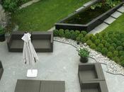 grandes tendances pour jardin contemporain.