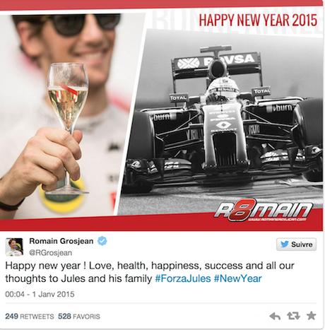 Les stars du sport vous souhaitent un joyeux noël et une bonne année 2015