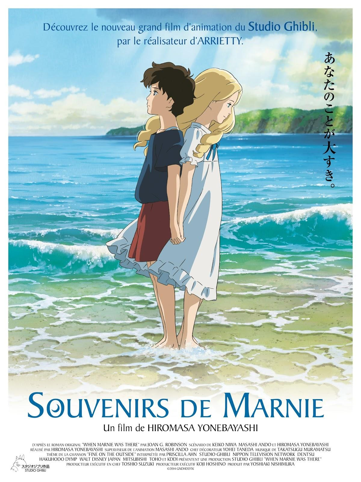 CINEMA: [INVITATIONS] Souvenirs de Marnie (2014), la nostalgie de Ghibli / When Marnie Was There (2014), the nostalgia for Ghibli - #DisneySocialClub