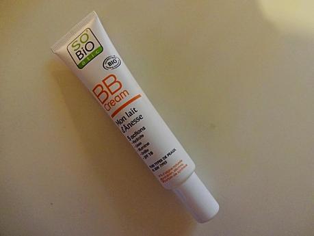 Test : BB crème lait d'annesse de So bio Etic