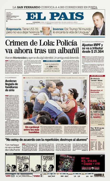 La presse uruguayenne ne cache pas sa ferveur patriotique [Actu]