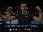 Cocorico moments sport français vous fait vibrer 2014