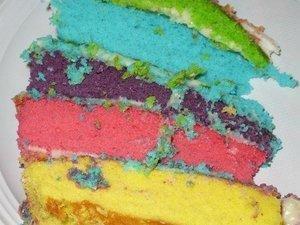 Gâteau RAINBOW PALETTE DE PEINTURE pour les 12 ans de ma fille