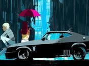 Muscle cars jeunes couples, illustrations Oriol Vidal