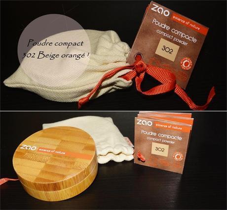 A la découverte de la marque Zao,... Mon avis !