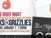 Avec Tinder, Atlanta Hawks aident leurs fans trouver l'amour