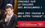 Valls: kippa le plus peu le moins