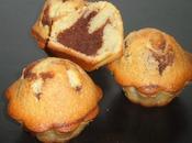 Muffins vanille coeur chocolat carambar