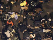 morts blessés lors célébration nouvel Chine