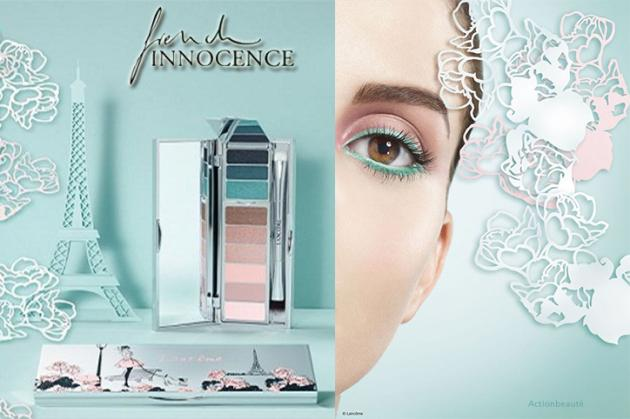 palette lancome french innocence