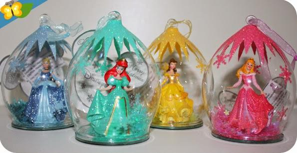 Boule De Noel Disney Princesse Nos boules de Noël princesses Disney | À Découvrir