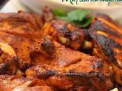 Cuisine indienne Poulet tandoori sauce épicée