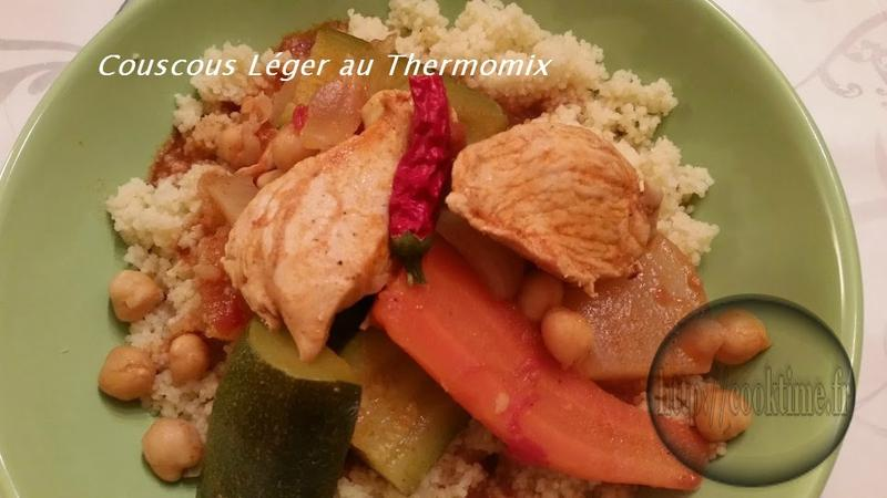 couscous leger au Thermomix