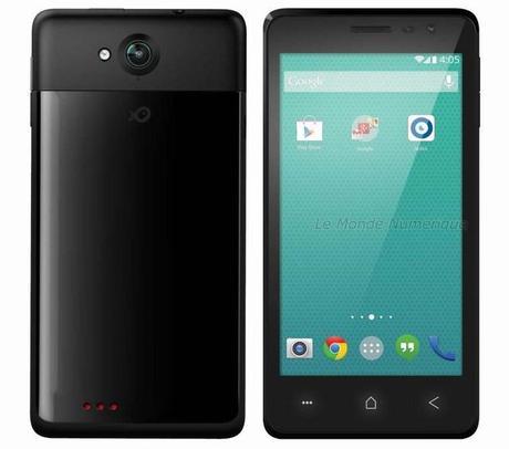 Carrefour lance un smartphone compatible 4G à moins de 180 euros