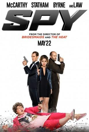 [News/Trailer] Spy : Melissa McCarthy, Statham, Law et Rose Byrne en pleine action !