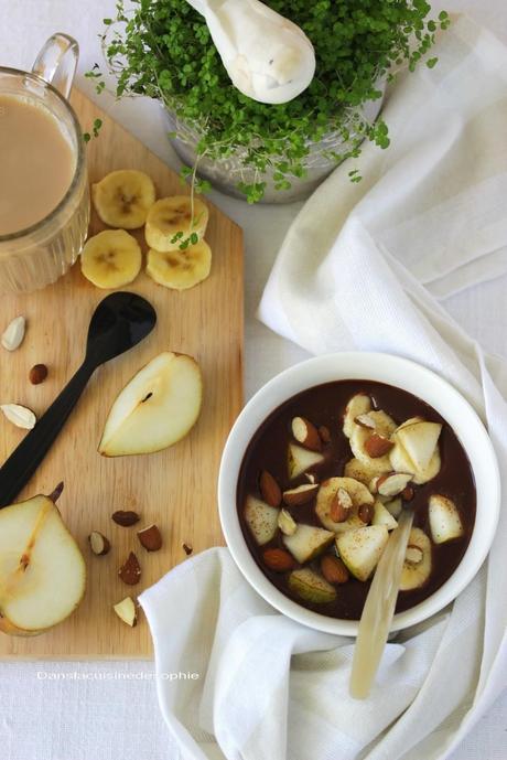 Rice Chaï & bol gourmand de petit déjeuner