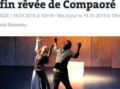 Rosita Boisseau signe article NUIT BLANCHE OUAGADOUGOU Serge Aimé Coulibaly