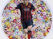 Messi fait tailler portrait pour bonne cause