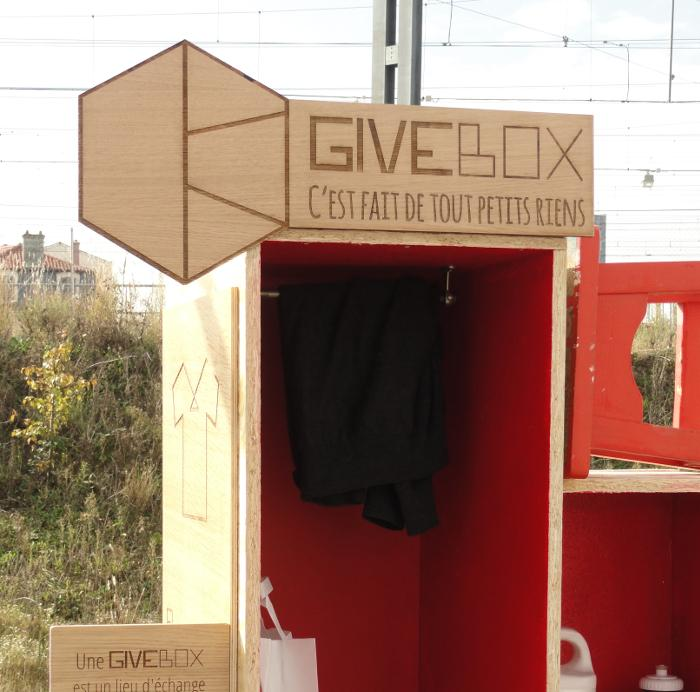 projet  u00e9tudiant   givebox lyon un design engag u00e9