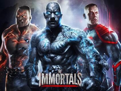 WWE Immortals le free-to-play sur mobile débarque