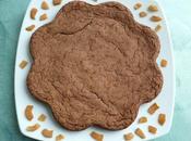 gâteau moelleux diététique sans gluten noix coco cacao avec Sukrin (sans oeufs beurre)