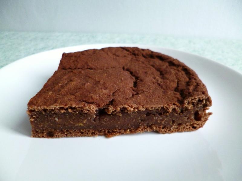 gâteau végan sans gluten amande chocolat avec farines de souchet