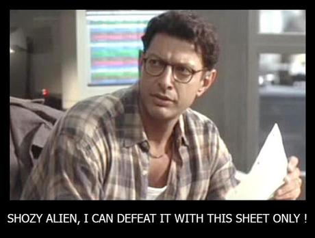 alien and goldblum