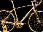Vélo course plaqué carat