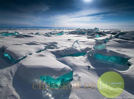 Lac Baïkal, en Russie