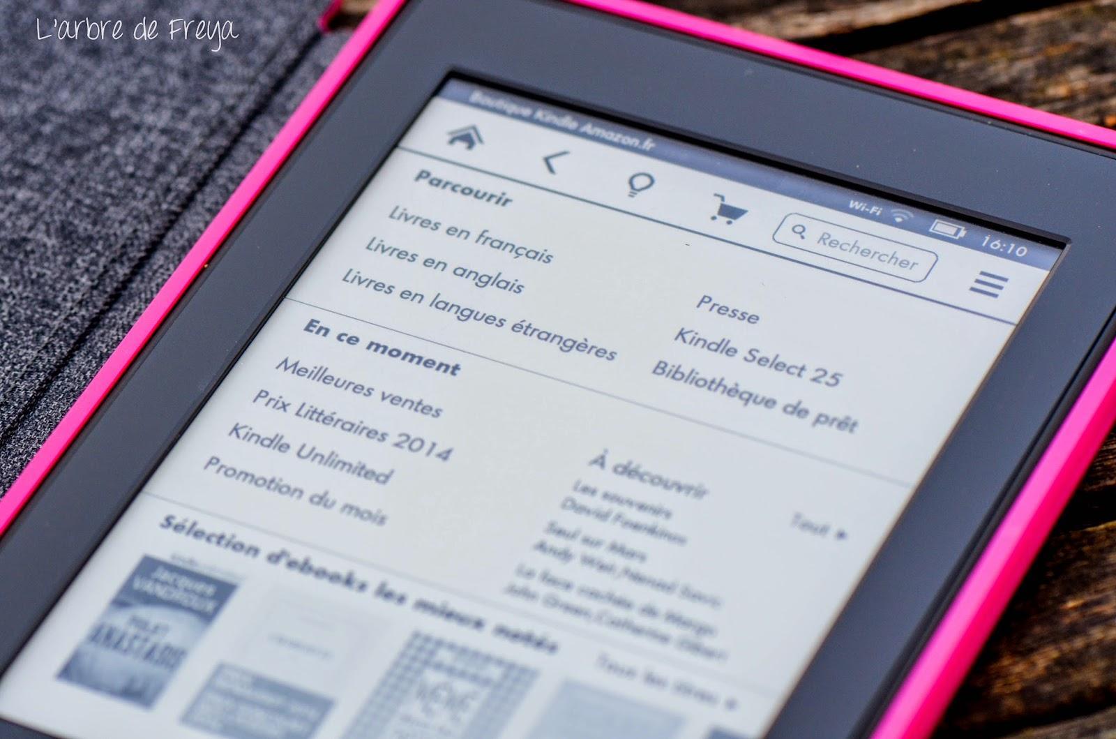 La Liseuse Kindle Par Amazon Le Test Paperblog