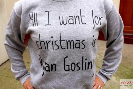 pull all i want for christmas is ryan gosling rad